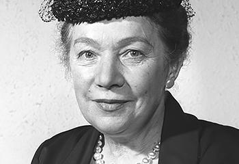 Dr Erna Scheffler Erste Richterin Des Bundesverfassungsgerichts